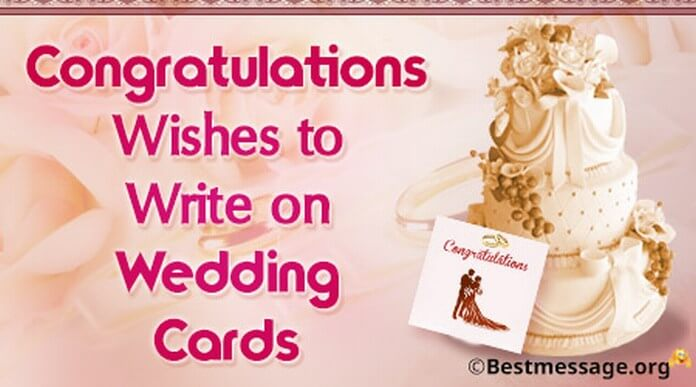 short wedding wishes and messages to write on wedding cards