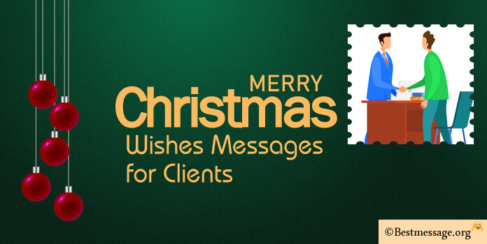 Christmas messages for clients