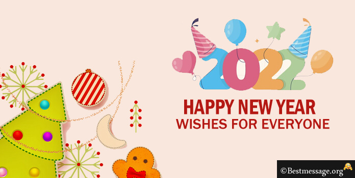 Happy New Year Wishes 2021, Short New Year Wishes Messages Image