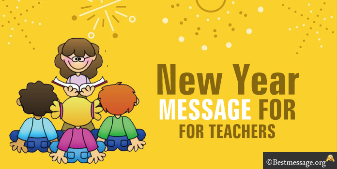 Happy New Year Text Messages Teachers 2018 - New Year Wishes Image, pictures wallpapers