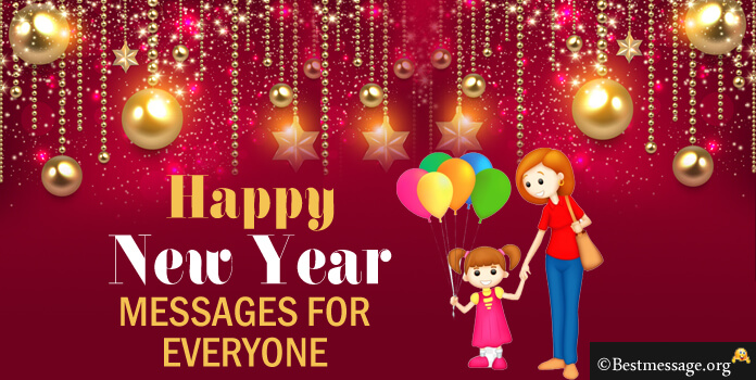 Happy New Year 2018 Messages, New Year 2018 SMS, Wishes Quotes