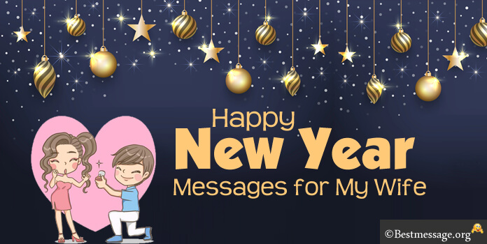 romantic new year messages for my wife