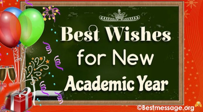best wishes for new academic year