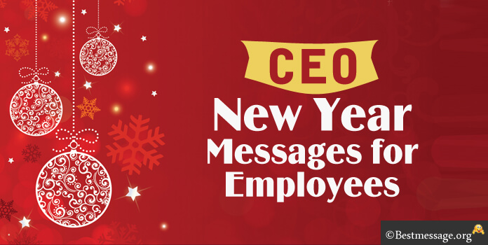 CEO New Year Message to Employees, Message from CEO