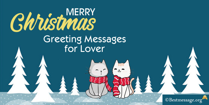 Christmas Greeting Messages for Lover