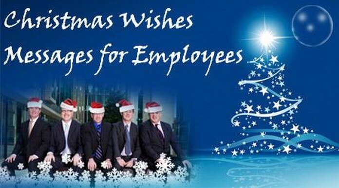 Christmas Messages for Employees, Holiday Employee Wishes