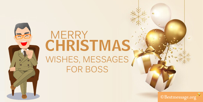 christmas wishes messages for boss