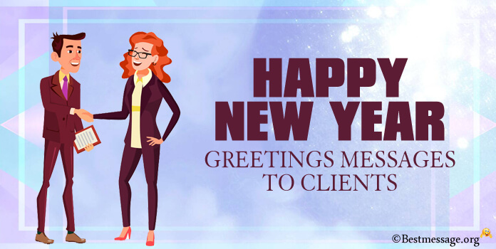 new year greeting text messages to clients