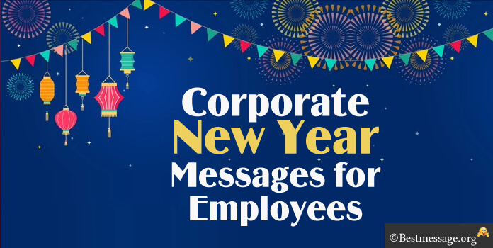 Corporate New Year Messages for Employees