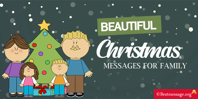 Beautiful Christmas Messages for Family