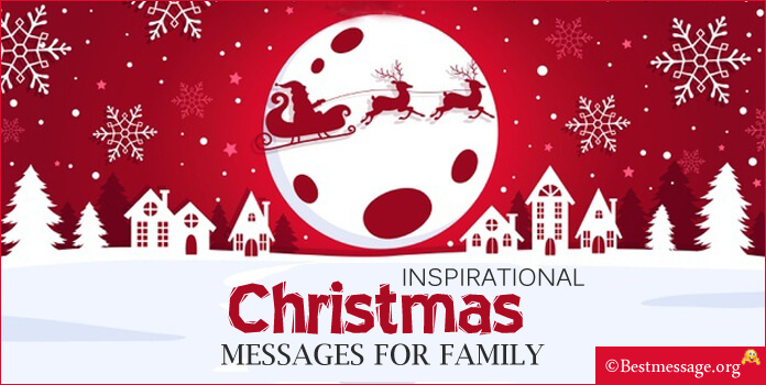 Inspirational Christmas Messages for Family