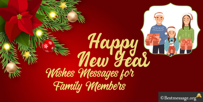 Happy New Year Messages to Family Members in English