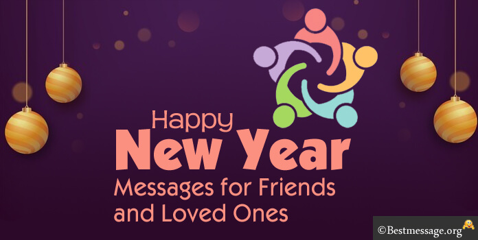 New Year Messages to Friends and Loved ones | Short New Year Wishes