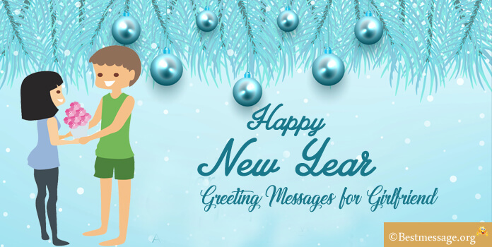 Romantic New Year Greeting Messages for Girlfriend