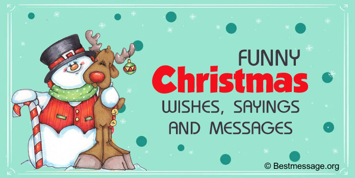 Latest Funny Merry Christmas Messages