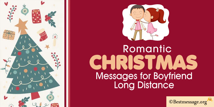 Cute Christmas Message for Boyfriend Long Distance