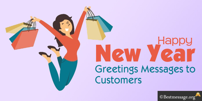 new year greeting messages to customers