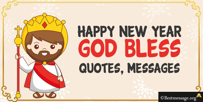 God Bless You New Year Messages, Blessing Wishes