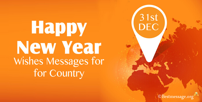 New year wishes for country