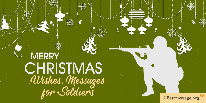 christmas messages soldiers