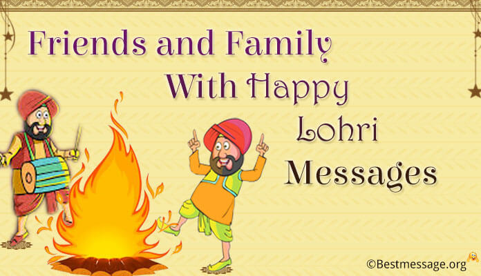 happy lohri wishes for friends and Family - Happy Lohri Messages