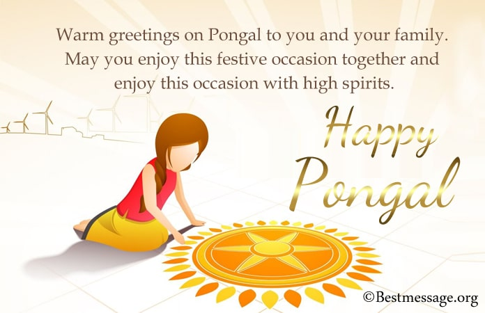 Happy Pongal Messages, Pongal Festival Pictures Images