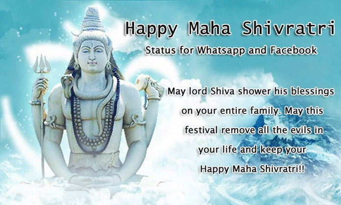 Happy Maha Shivratri Status Image - Shivratri Pictures messages