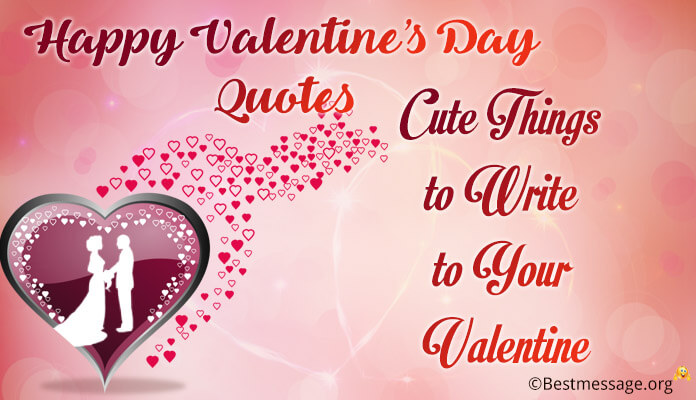 Cutest Romantic Write Valentine's Day wishes