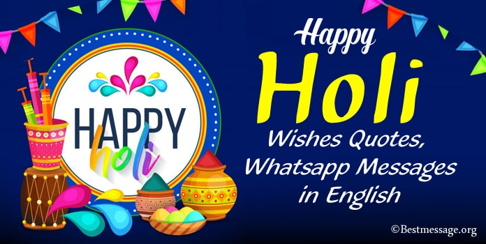 Latest Happy Holi Wishes And Text Messages 2017