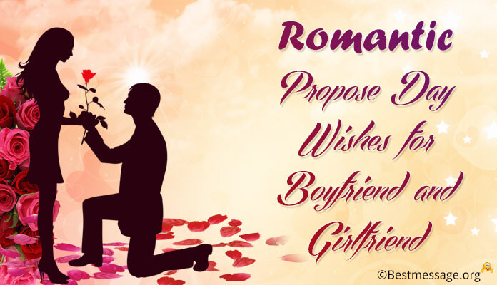 Propose Day Messages for Boyfriend and Girlfriend - propose day wishes images