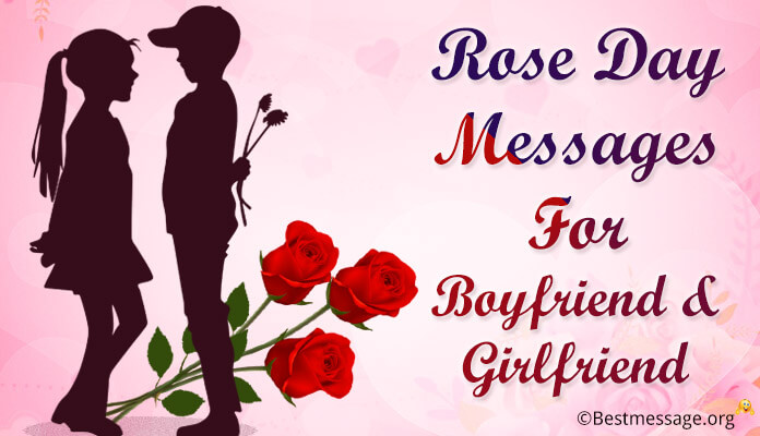 Rose Day Messages For Boyfriend, Girlfriend Rose Day Wishes Image