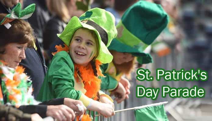 St. Patrick's Day Parade Messages