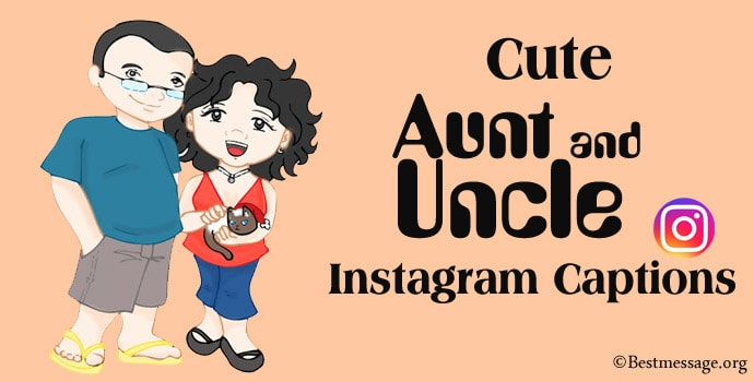 Aunt and Uncle Instagram Captions