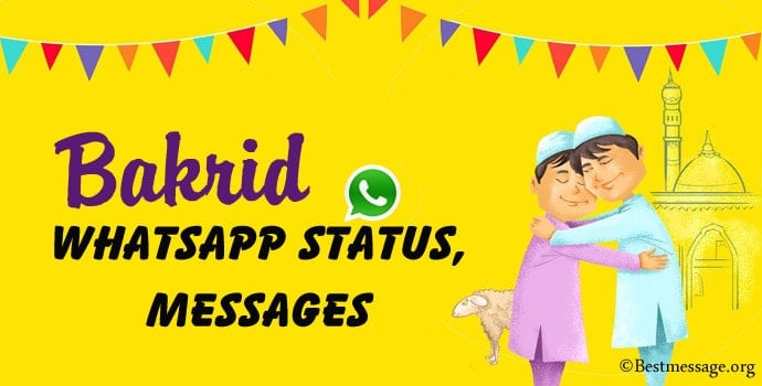 Bakrid Whatsapp Status, Eid-ul-Adha Whatsapp Messages