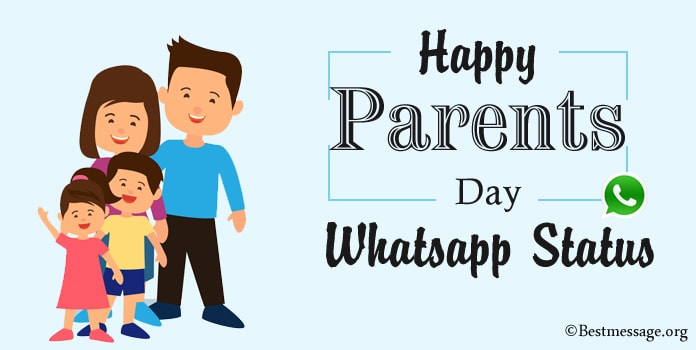 Parents Day WhatsApp Status, Maa Baap status Messages