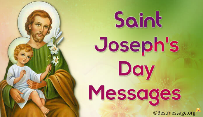 Wishes and Messages Saint Joseph's Day