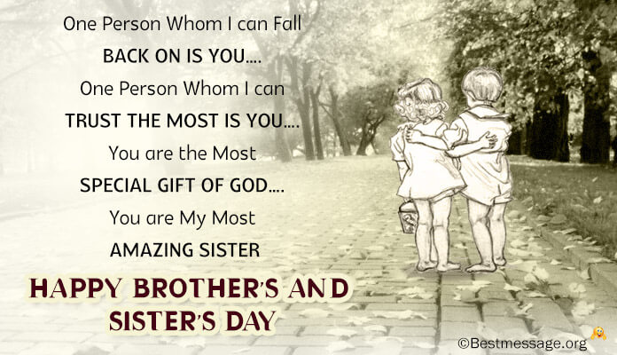 Brother Sister Day Images Status Sms messages Photos