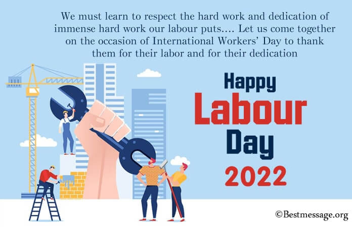 Labour Day Wishes Quotes 2021, Workers day Messages