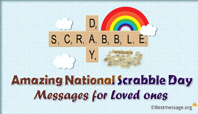 National Scrabble Day Messages for Loved ones