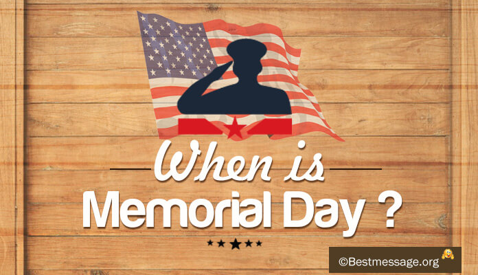 When will be Memorial Day