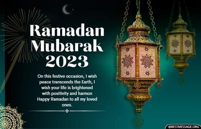 Ramadan Mubarak Wishes 2021, Ramadan Kareem Messages Images