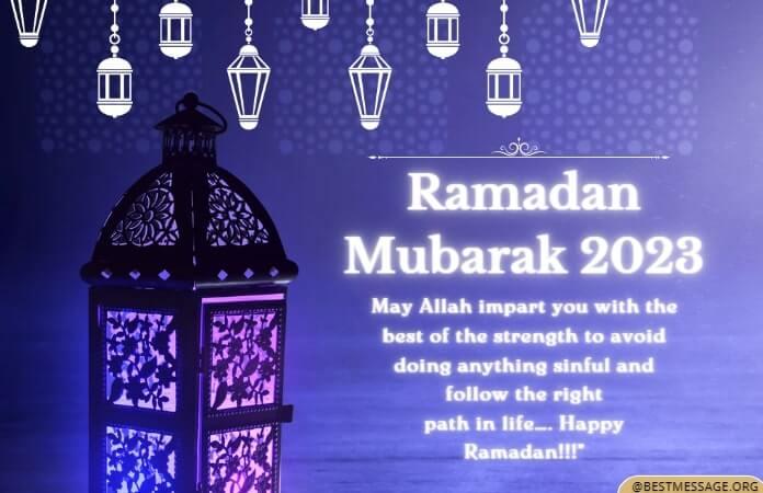 Ramadan Fasting Wishes, Ramadan Kareem Messages, Quotes