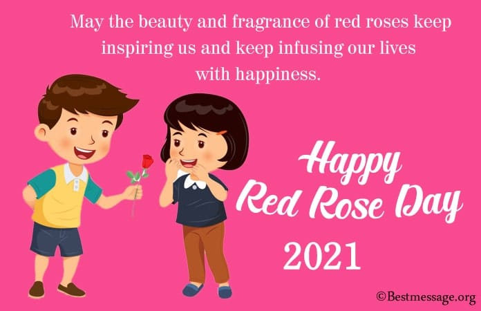 Rose Day Whatsapp Status, Red Rose Day Status Messages
