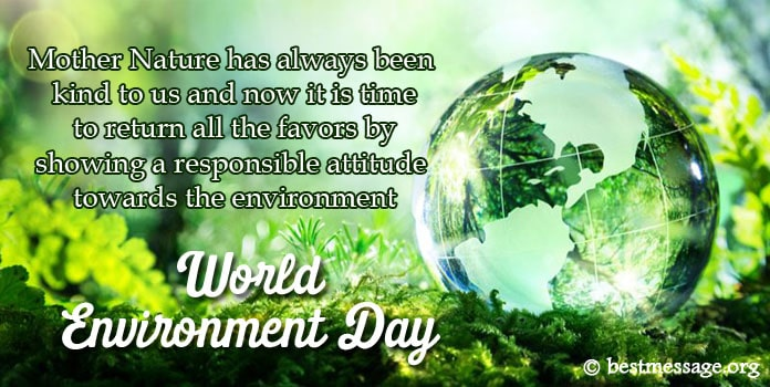 Happy World Environment Day Messages
