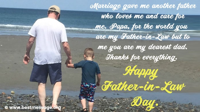 Father in Law Day Images Messages