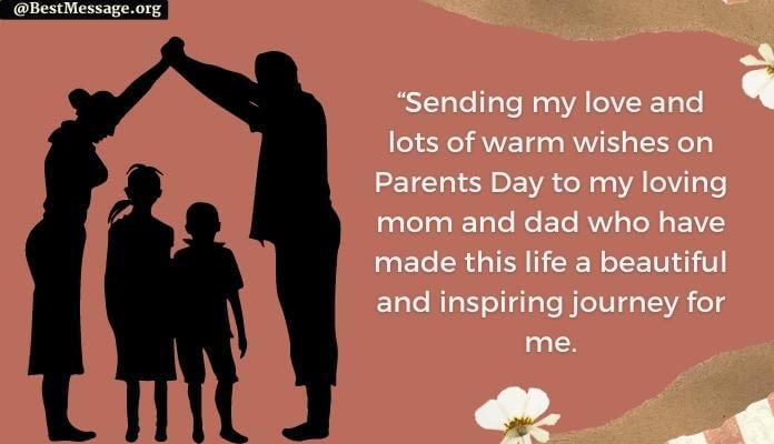 Happy Parents Day Messages