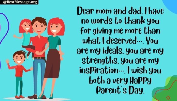 Happy Parents Day Image Messages