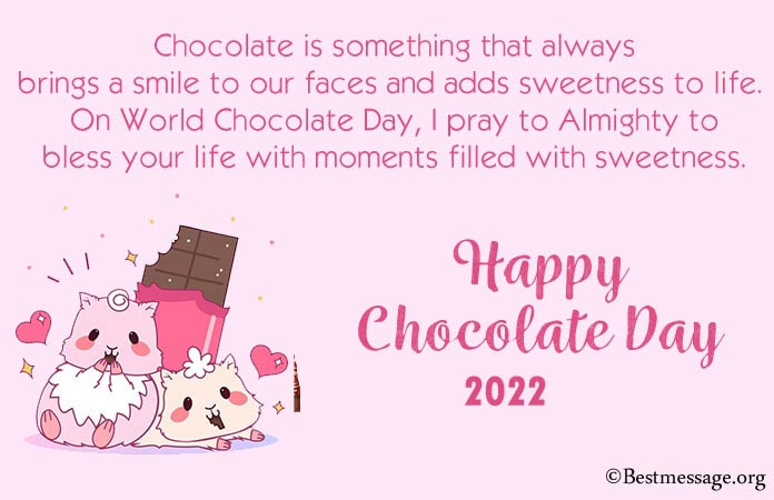Happy Chocolate Day Wishes, Quotes 2021