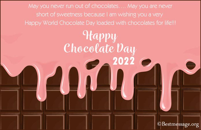 World Chocolate Day Messages, Wishes Images, Photos