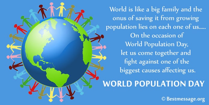 World Population Day Messages Image